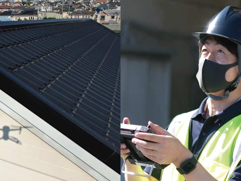 屋根/外壁 点検モバイルイメージ