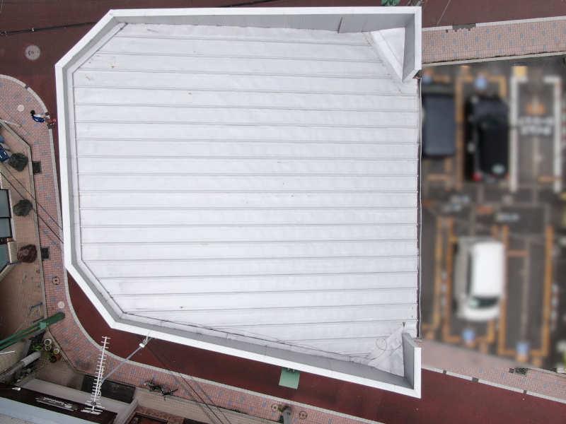 岡竹JAPANのドローン屋根外壁点検調査20210731_01